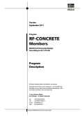 Manual RF-CONCRETE Members acc. to ACI 318