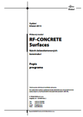 Manuál RF-CONCRETE Surfaces