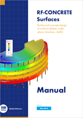 Manual de RF-CONCRETE Surfaces