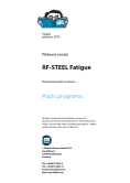 Manuál RF-STEEL Fatigue Members