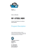 Manual RF-STEEL NBR