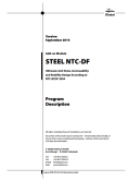 Manual STEEL NTC-DF