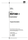 RSTAB 8 Manual incl. SUPER-RC