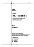 Manuál RX-TIMBER 2