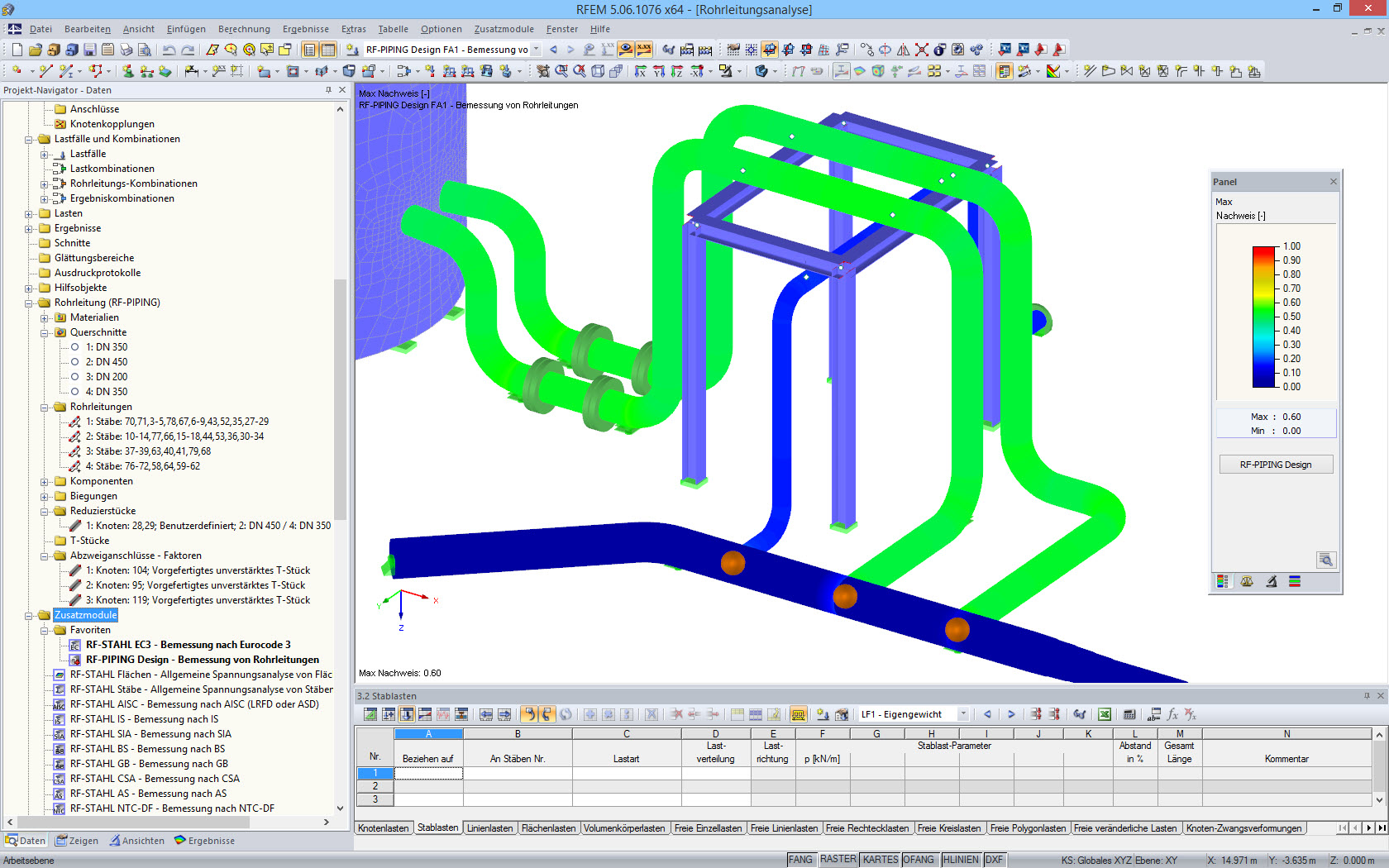 RF-PIPING Design