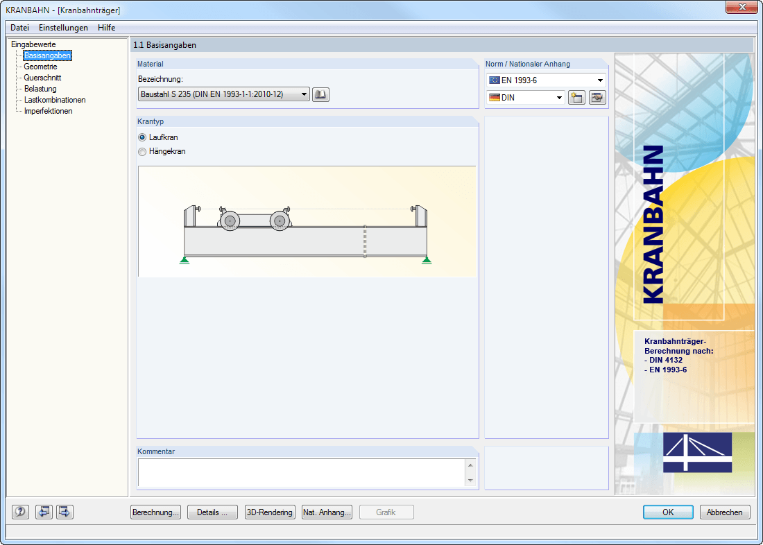 Crane Runway Beam Design Software