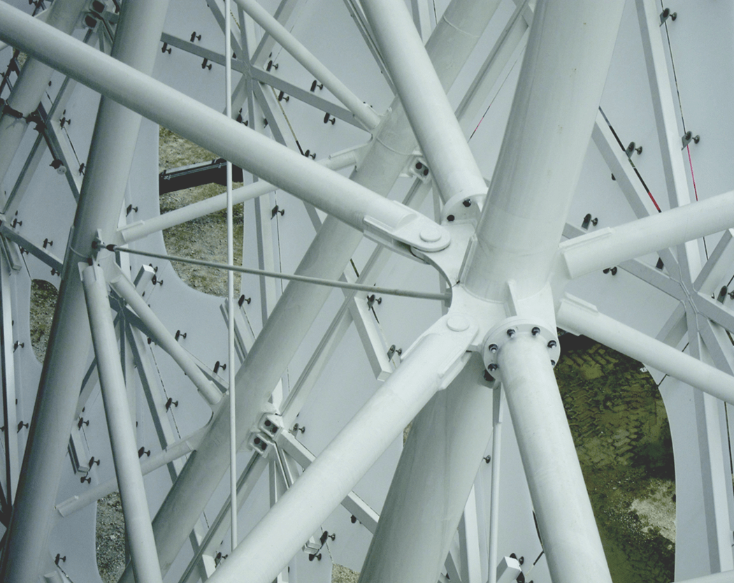 Detail of steel connection (© formTL)