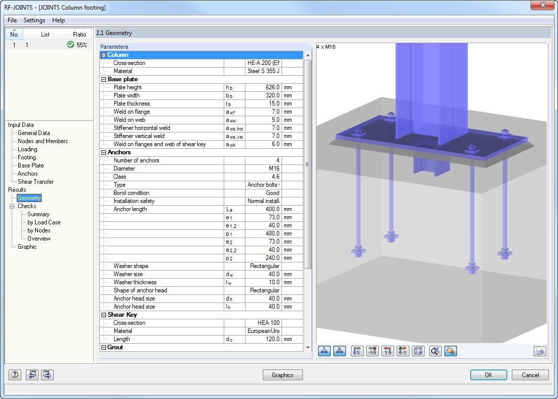 Rf Joints Steel Column Base Design Of Column Base