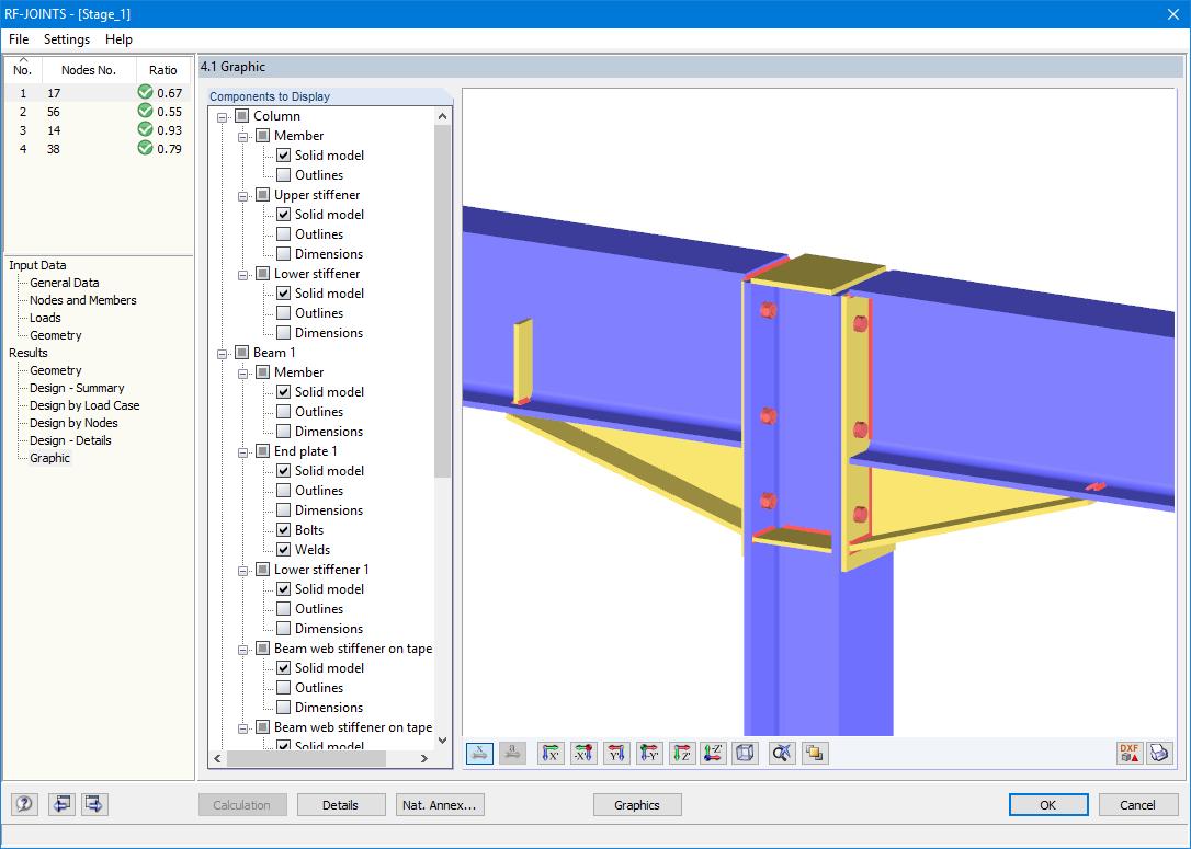 RF-JOINTS Steel - Rigid 5 xx