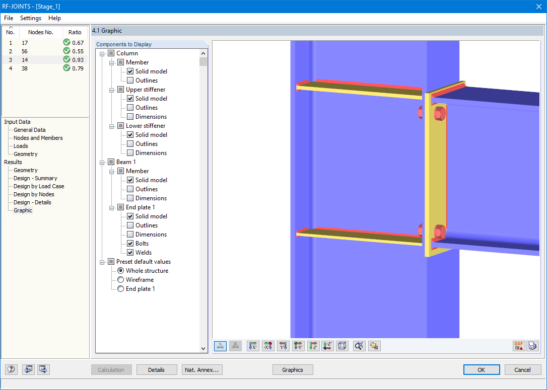 Graphic: Beam-Column Connection