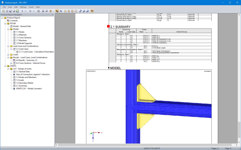Rf joints steel sikla progettazione di collegamenti for Software di progettazione di mobili