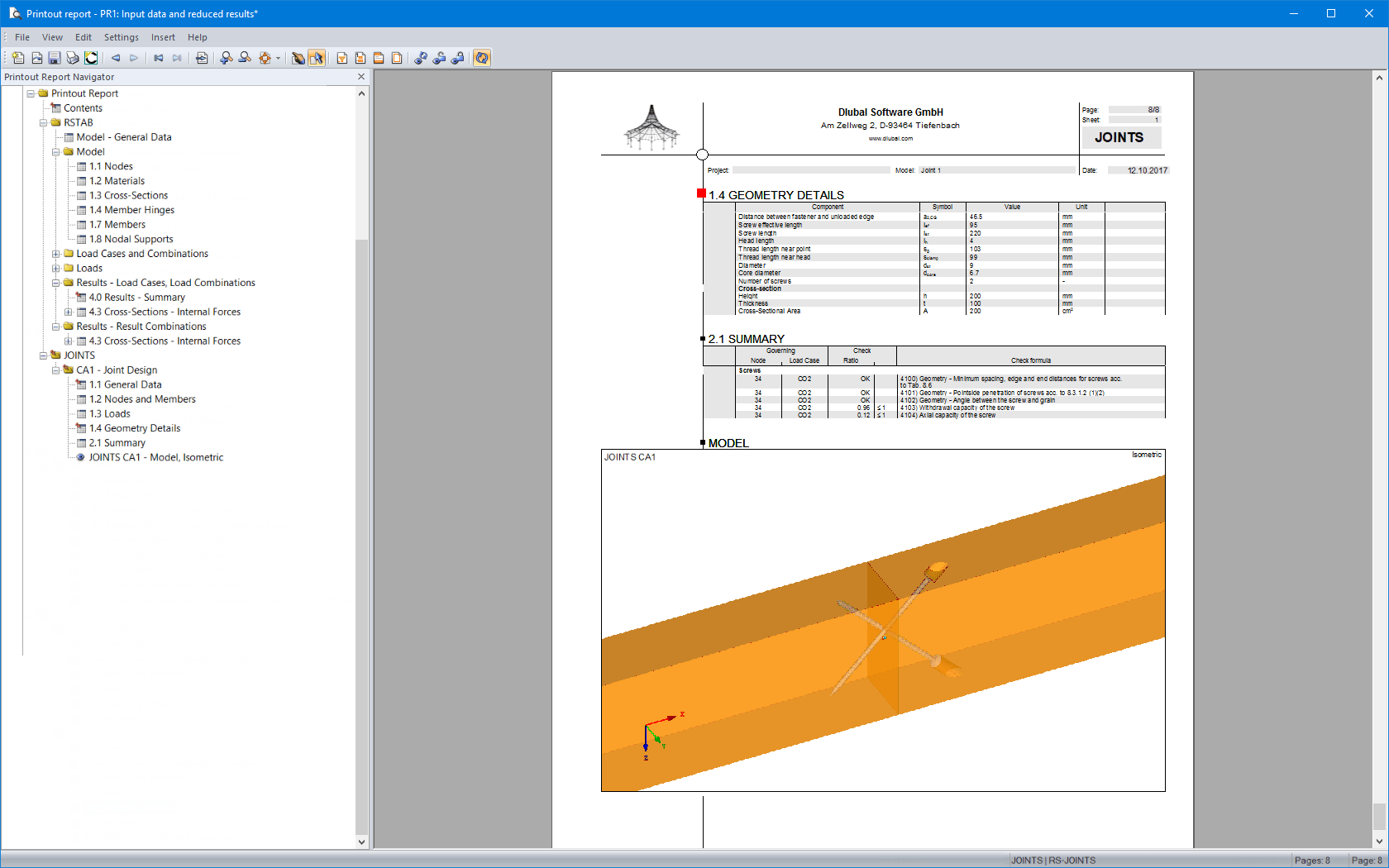 RF-JOINTS Timber - Timber to Timber 5 xx