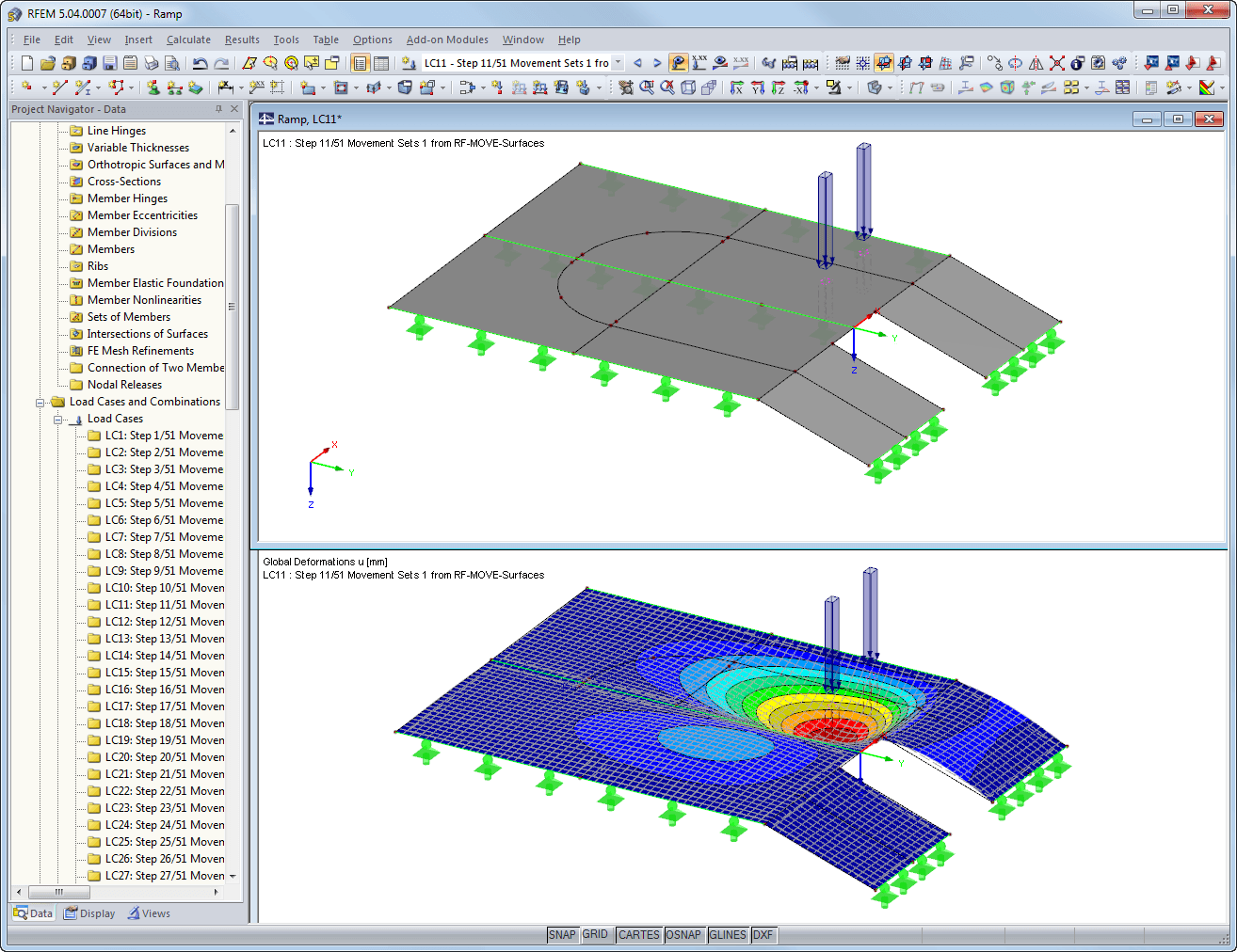 Generated loads in RFEM