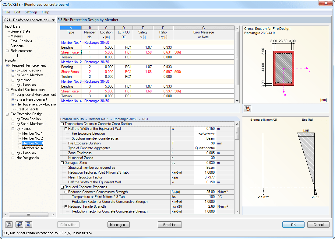 Reinforced concrete council software