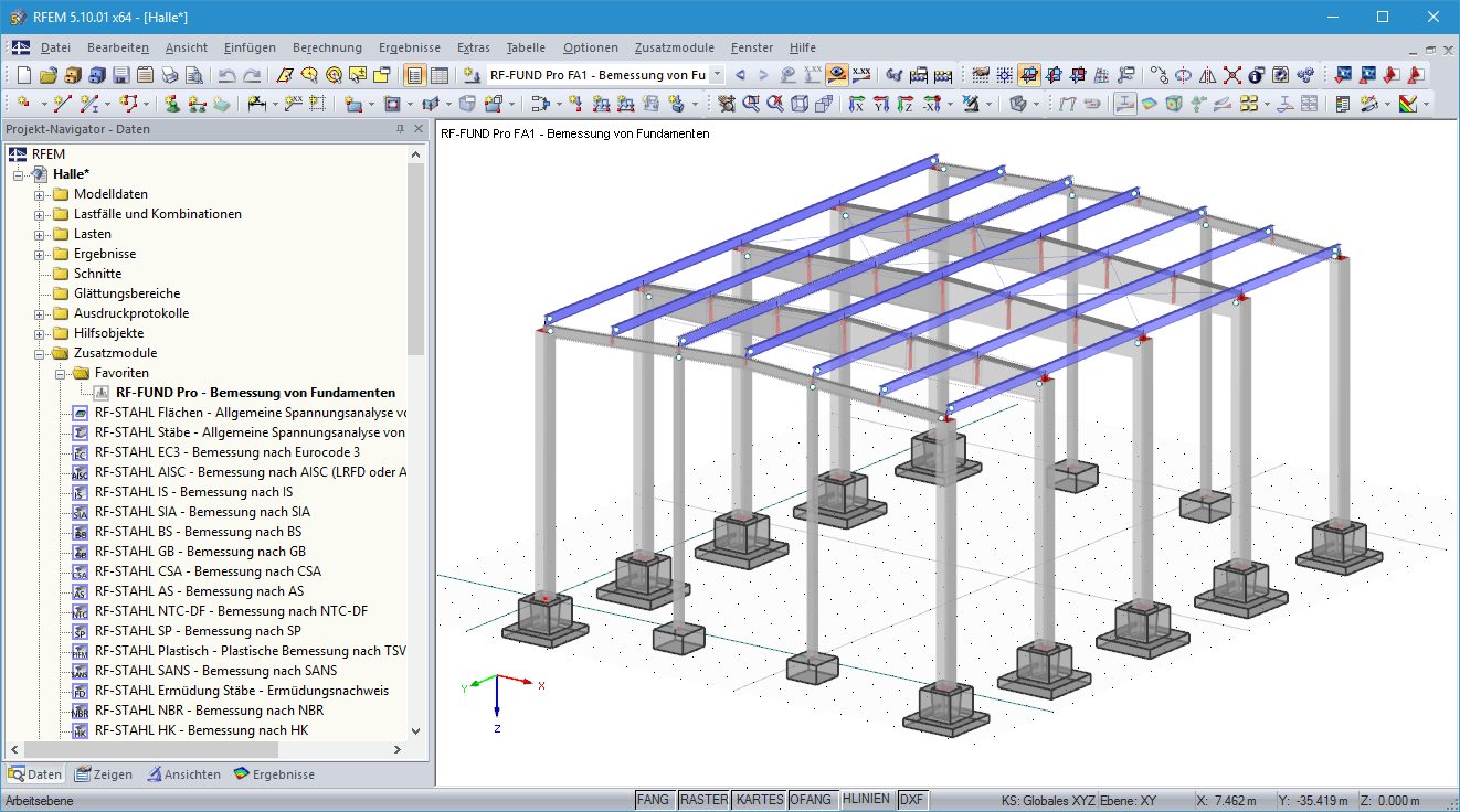 Fundamente im 3D-Rendering in RFEM