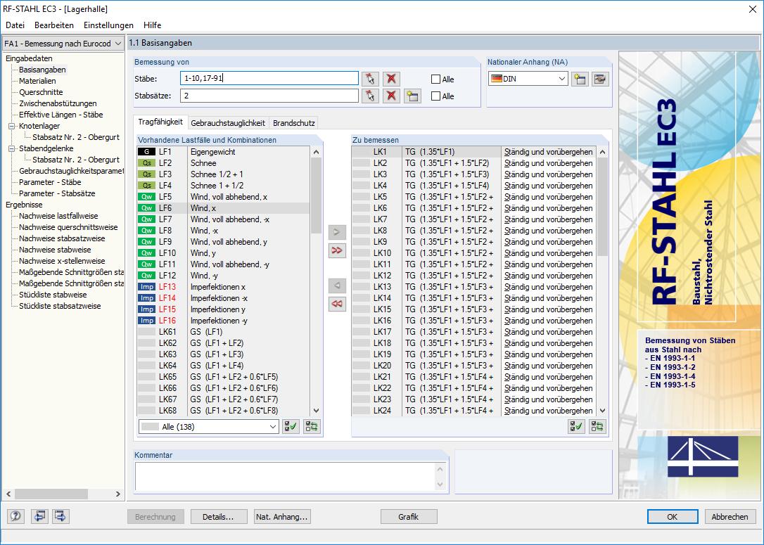 Stahl ec3 stahl bemessung nach eurocode 3 ec 3 dlubal for Finite elemente analyse fur ingenieure pdf