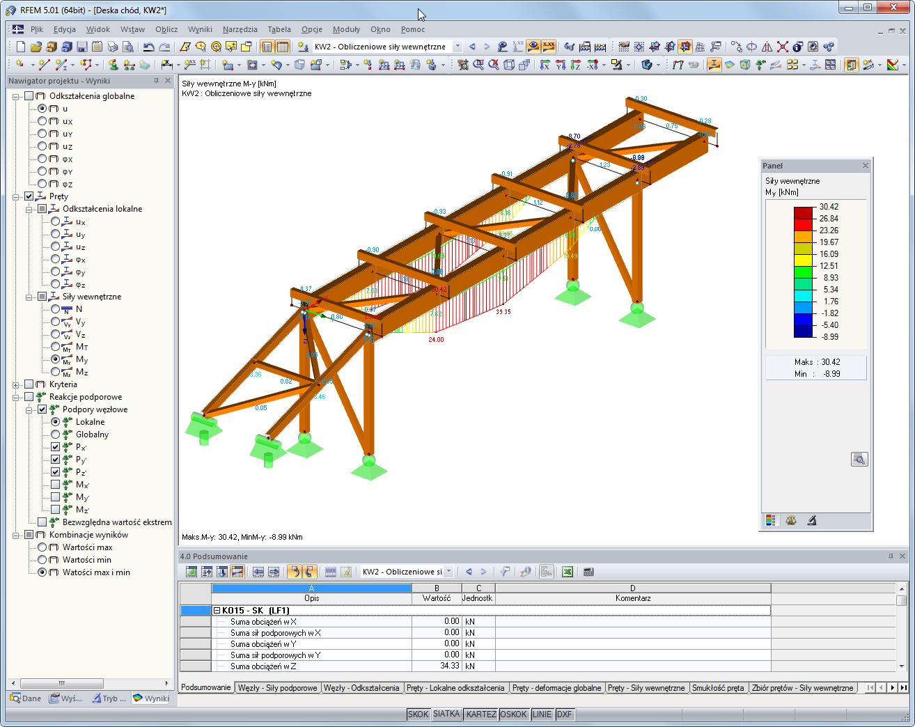 Rfem dla mes modelowanie dlubal software - Software progettazione mobili legno gratis ...