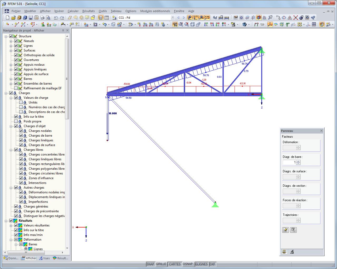 RFEM Le logiciel de calcul de structure auxéléments finis Dlubal Software # Calcul Charpente Bois Gratuit
