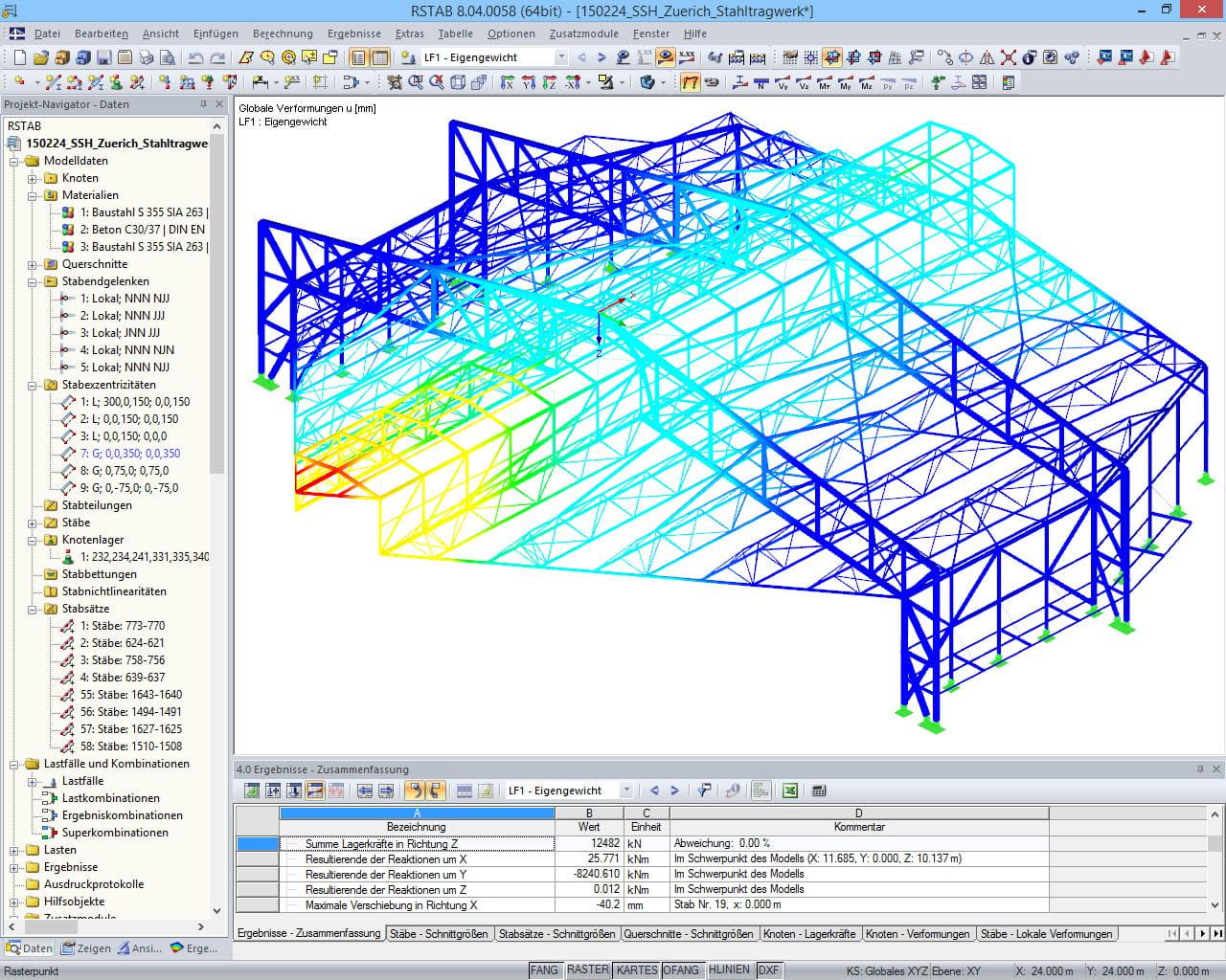 statiksoftware rstab modellierung dlubal software. Black Bedroom Furniture Sets. Home Design Ideas