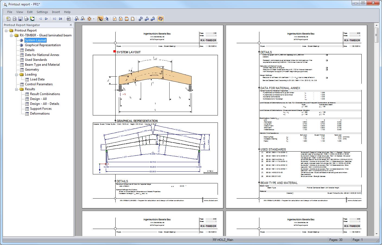 RX-TIMBER Glued-Laminated Beam 2 xx