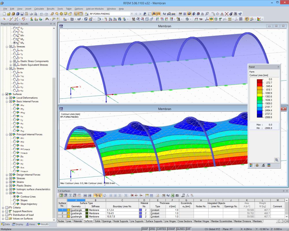 Tensostrutture e membrane con il nostro software di for Software di progettazione domestica personalizzato