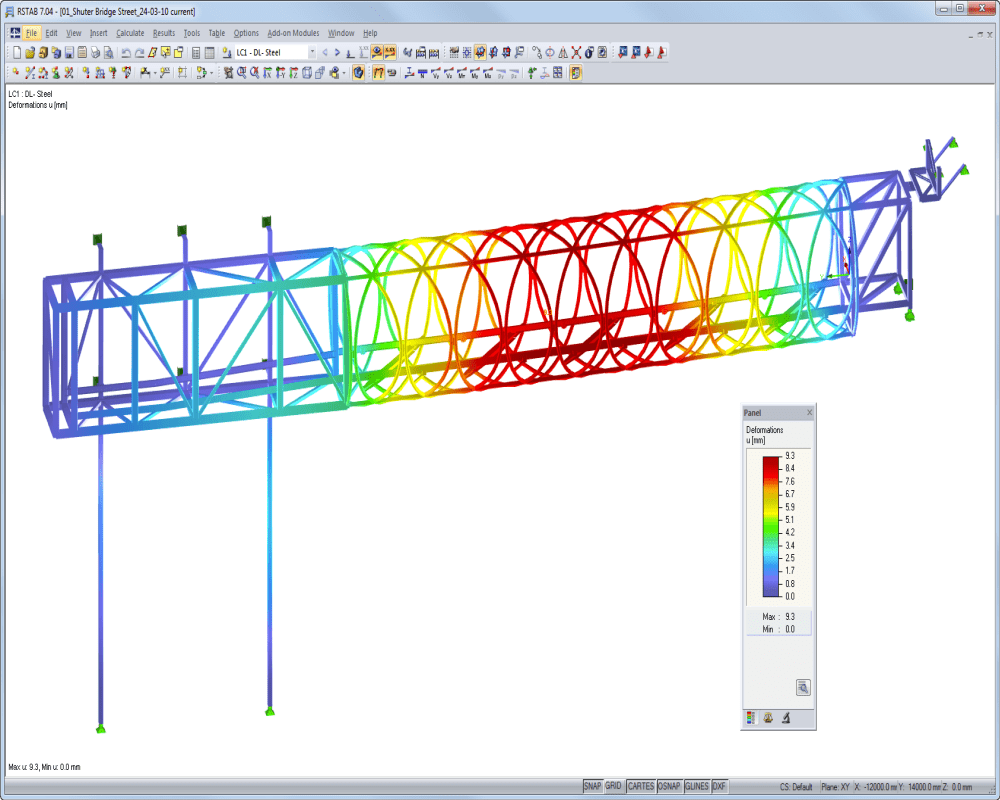Structural Analysis And Design Software For Bridges Dlubal Arch Bridge Diagram Parts Shutter Street In Toronto Canada Josef Gartnerpermasteelisagroupcom