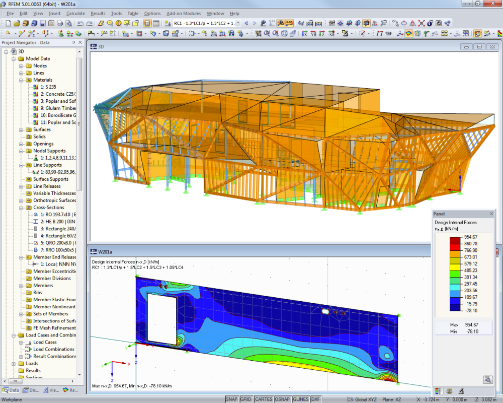 Laminate, CLT and Sandwich Structures   Dlubal Software