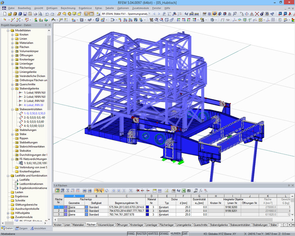 Fem berechnungssoftware f r maschinenbau dlubal software for Maschinenbau statik
