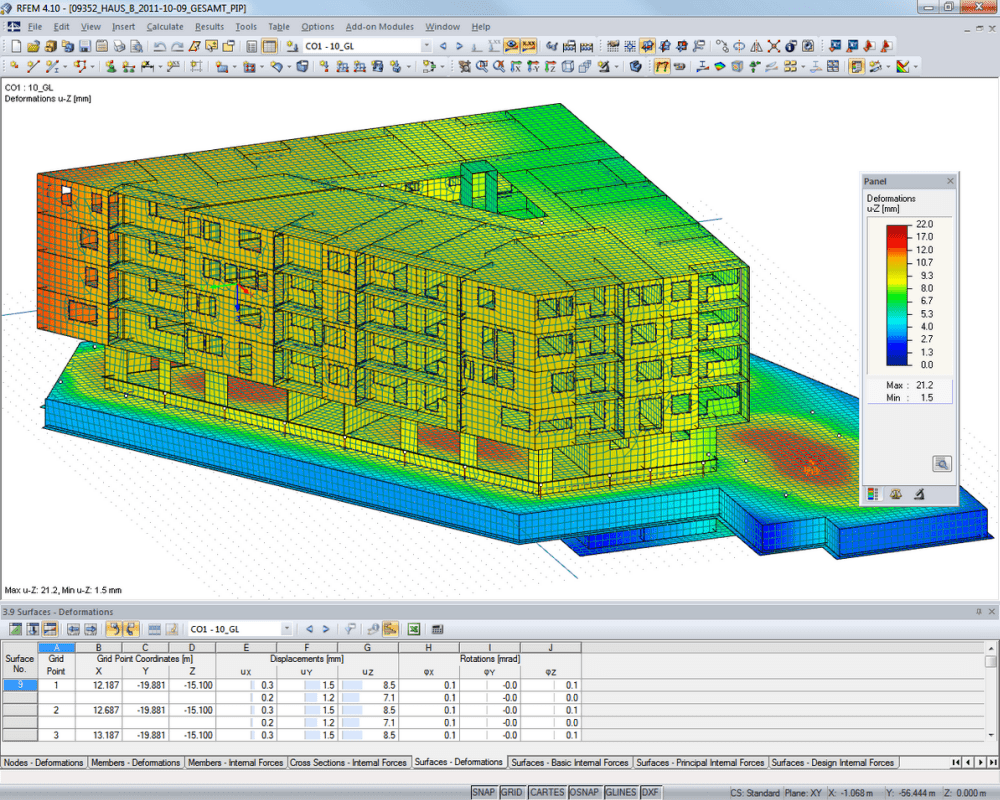 Concrete structural analysis design dlubal software for Garage building software