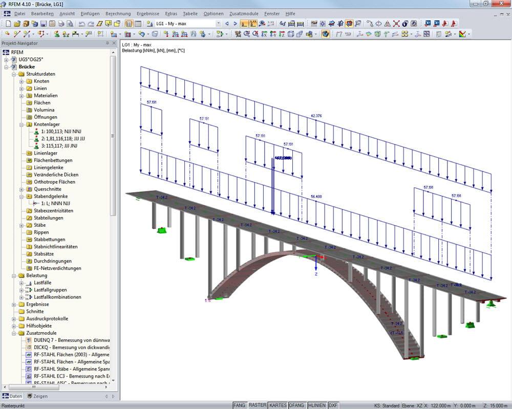 Progettare Un Ponte.Software Di Analisi Strutturale E Progettazione Di Ponti