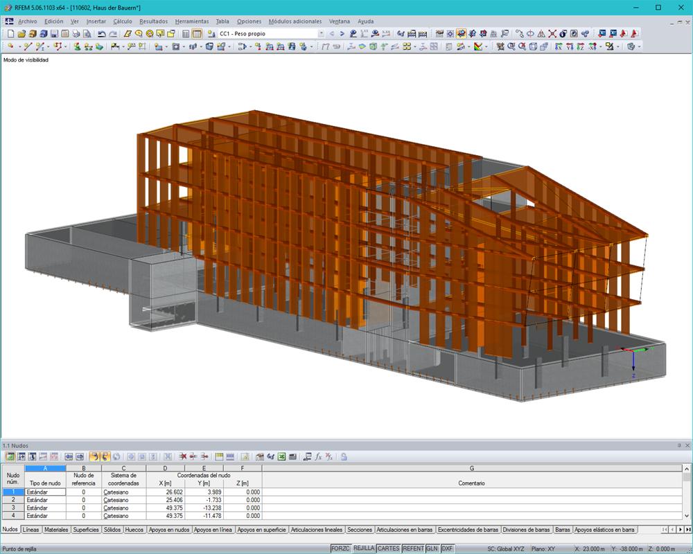 Software de an lisis para estructuras de madera dlubal - Estructura de madera laminada ...