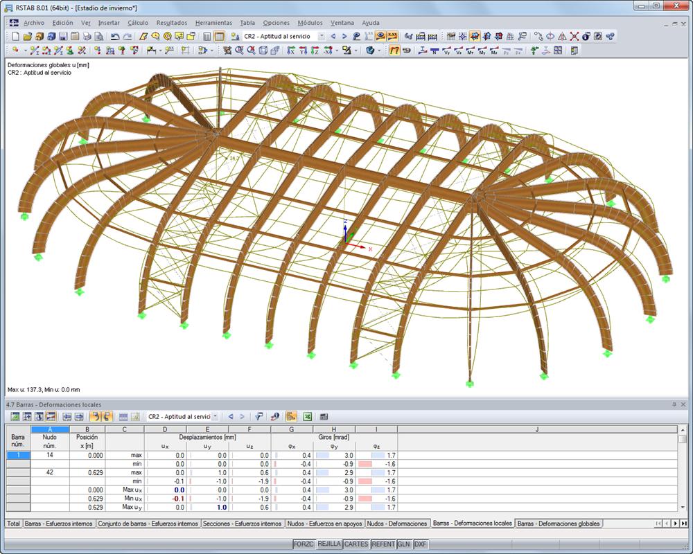 Software de an lisis para estructuras de madera dlubal - Estructuras de madera laminada ...