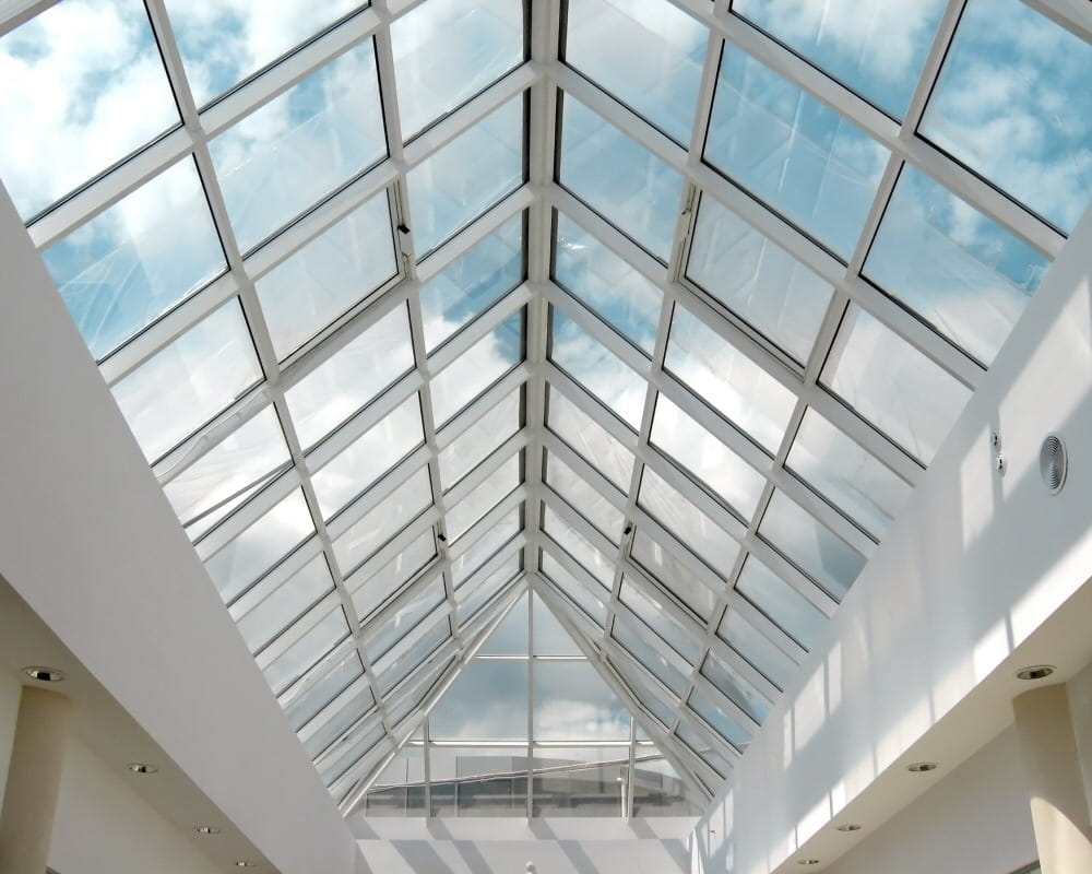 Aluminum skylight structure