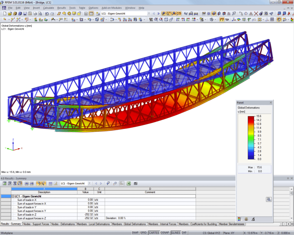 Emergency and temporary bridges | Designed with RFEM by Janson Bridging, Hank/Netherlands | www.jansonbridging.com