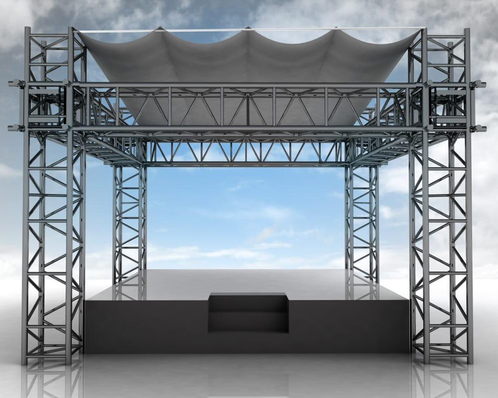 Staging Of Steel Images : Statiksoftware für fliegende bauten dlubal software