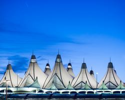 Tent structures at Denver International Airport