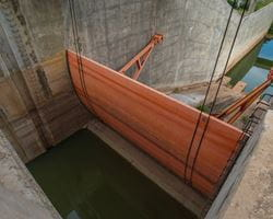 Sluice in the Lam Pao dam