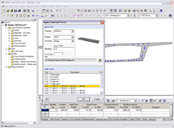 Cross -section properties program THICKQ - import internal forces from RFEM or RSTAB