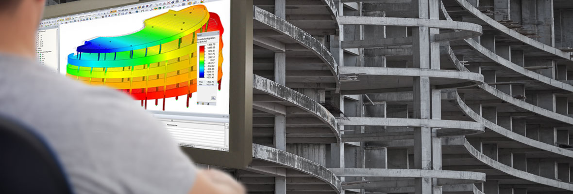 Dlubal software for calculation and design of reinforced concrete structures