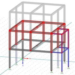Consideration of construction stages in building construction with the help of RF-STAGES