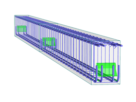 Design of reinforced concrete members and columns with RFEM and RSTAB