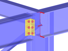 RF-/FRAME-JOINT Pro Add-on Module for RFEM/RSTAB | Frame Joints of Frames According to EC 3