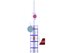 RFEM/RSTAB add-on module RF-/TOWER Attachments | Extensions for cellular lattice towers