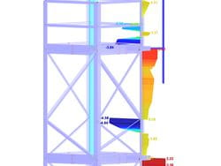 Module additionnel RFEM/RSTAB RF-/TOWER Effective Lengths | Détermination des longueurs efficaces des tours en treillis