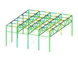 RFEM/RSTAB add-on module RF-/STEEL SIA | Design of steel members according to SIA 263