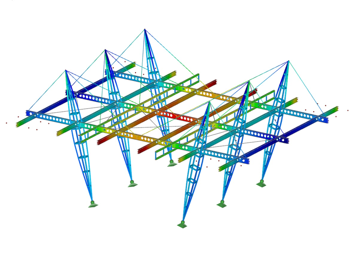RFEM/RSTAB add-on module RF-/STEEL IS | Design of steel members according to IS 800