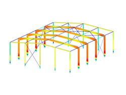 RFEM/RSTAB add-on module RF-/STEEL GB | Design of steel members according to GB 50017-2003