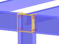 Přídavný modul RF-/JOINTS Steel - Rigid pro program RFEM/RSTAB