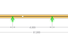 Stand-alone program RX-TIMBER Continuous Beam