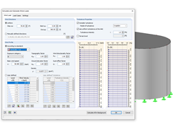 Parameters for the RFEM/RSTAB Load Cases